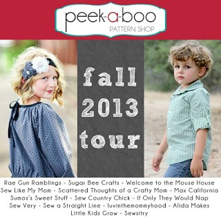 Vote for your favorite look, plus Peek-a-boo Pattern Giveaway!