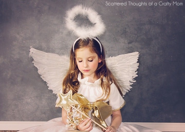 Diy Angel Costume Plus Tutorial And Pattern Scattered Thoughts
