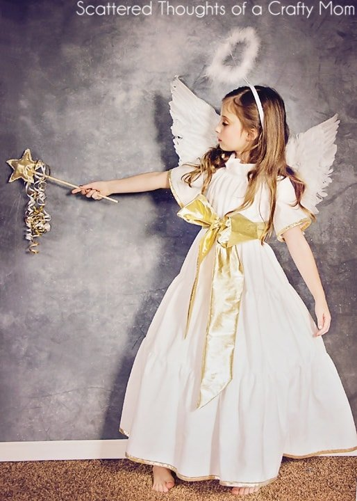 DIY Angel Costume (plus tutorial and pattern) - Scattered Thoughts ...