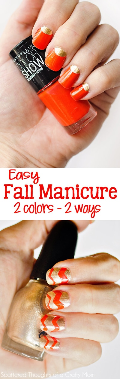 2 Easy, High Impact Fall Nail Polish Ideas