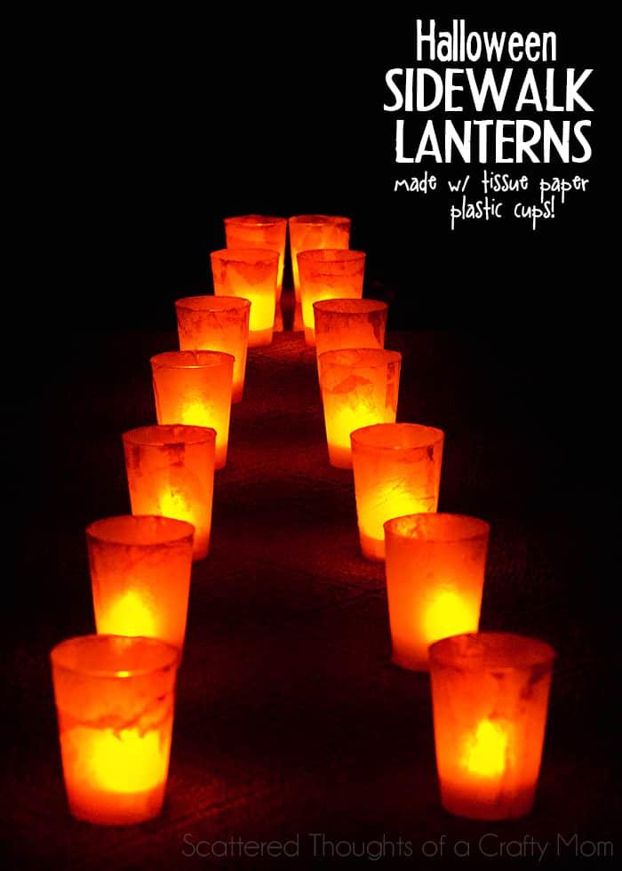 Halloween Sidewalk Lanterns