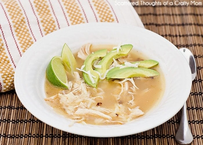 Mexican Lime soup w/ chicken