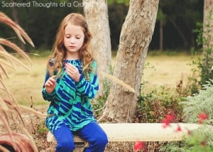 Long Sleeve Peasant Top w/ free pattern from Scattered Thoughts of a Crafty Mom