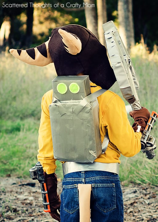 Ratchet and Clank Halloween Costume - Scattered Thoughts of a ...