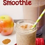 Apple Pie Smoothie Recipe (lightened up)