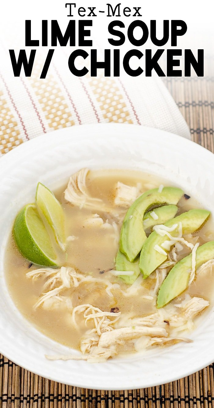 lime soup with chicken