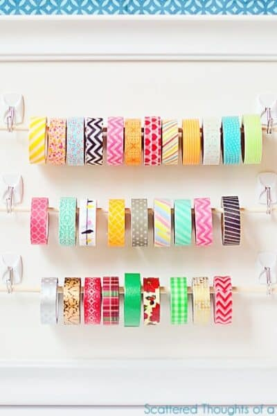 Easy Washi Tape Storage