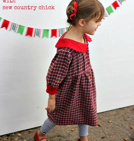 Up-cycled Christmas Dress