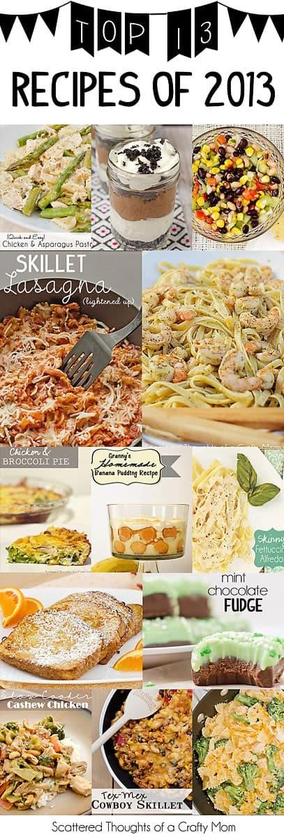 Top 13 Favorite Recipes of 2013