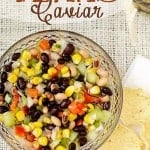 Lucky New Year's Dish: Texas Caviar w/ Black Eyed Peas