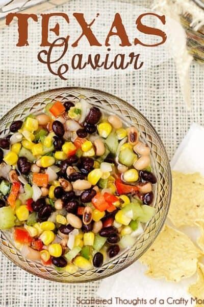 Lucky New Year's Dish: Texas Caviar w/ Black Eyed Peas