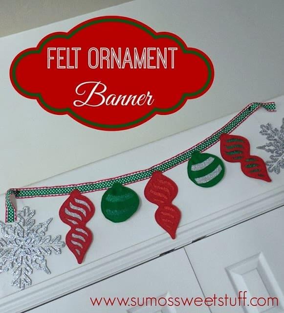 Felt Ornament Banner