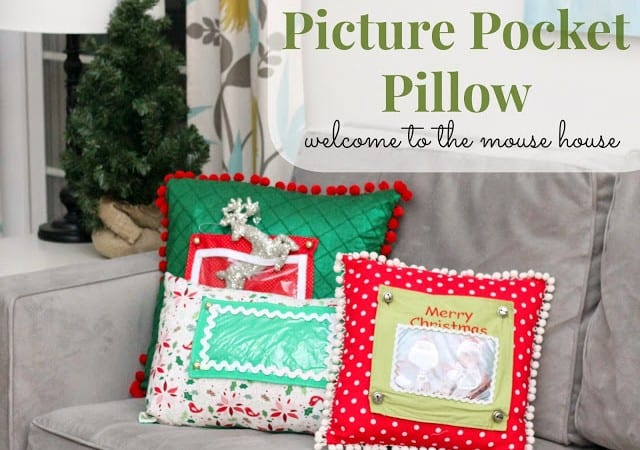 Picture Pocket Pillow