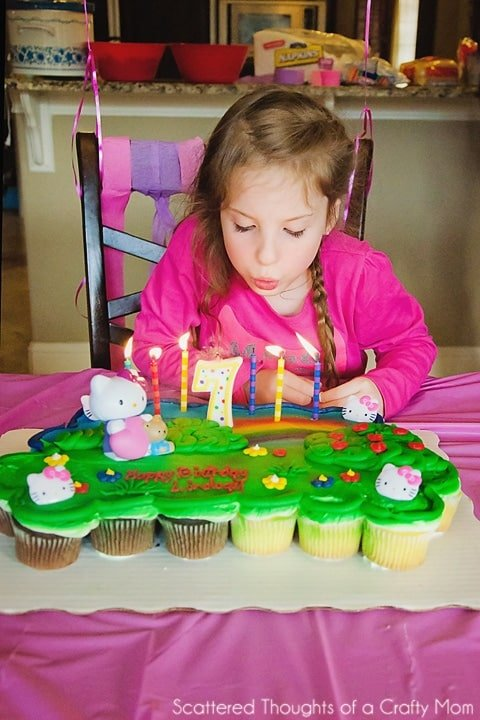Hello Kitty Birthday Party plus a giveaway for a Bakery Crafts Cake (gift card)