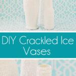 Crackled Ice Vase Tutorial