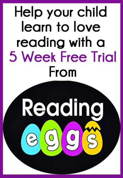 Reading Eggs Review: Help your child learn to love reading and 5 week free trial offer.