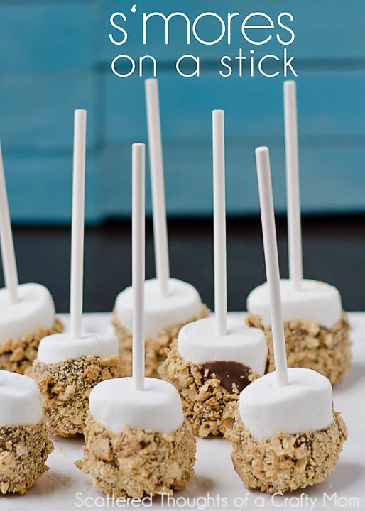 S'mores on a Stick   #smores