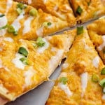 Buffalo Chicken Pizza (Cook once, Eat Twice)
