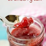 Quick and Easy Strawberry Jam Recipe with no pectin