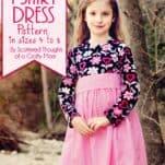 Twirly T-shirt Dress, free sewing pattern