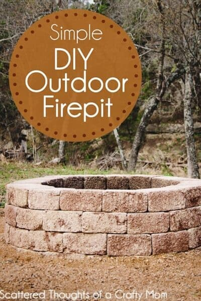 How to Build a Firepit for your Outdoor Space