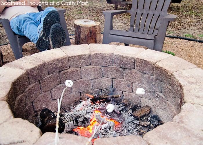 Build A Firepit, Easy Fire Pit DIY