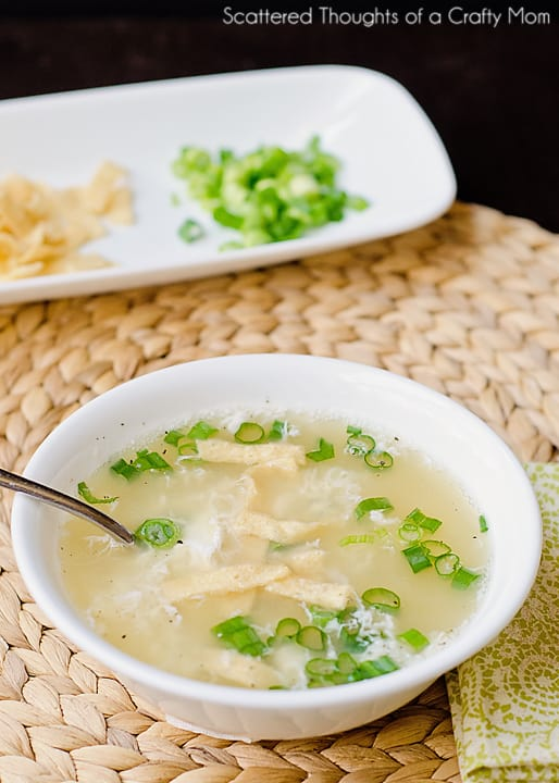 Egg drop soup recipe scattered thoughts of a crafty mom by jamie grab your ingredients and lets give it a whirl fyi i always recommend safest choice pasteurized eggs when using a recipe that might contain undercooked forumfinder Gallery