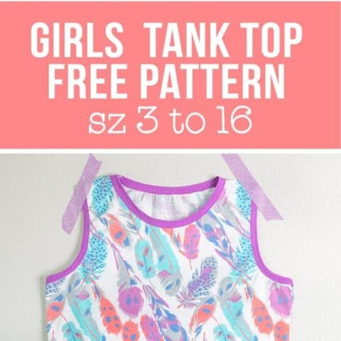 free tank top pattern