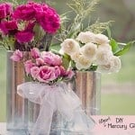 How to Make (faux) Mercury Glass Vases