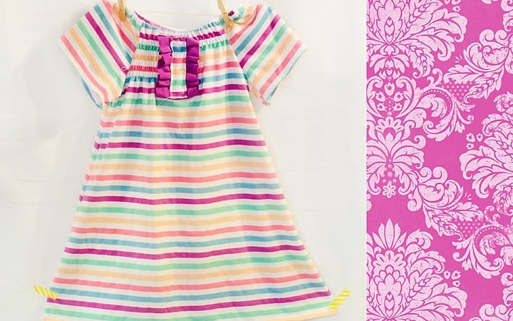How I Almost Finished the Cutest Playdress Ever… (and a pattern update)
