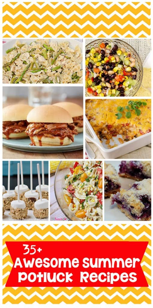 35+ recipe ideas for your next potluck! #potluck