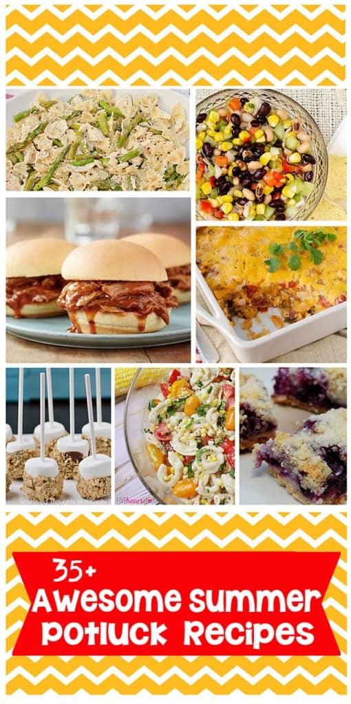 35+ recipe ideas for your next potluck! #potluck