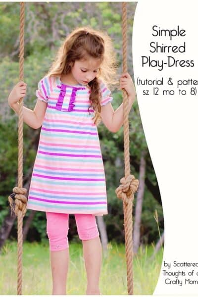 Free Pattern: Shirred Playdress