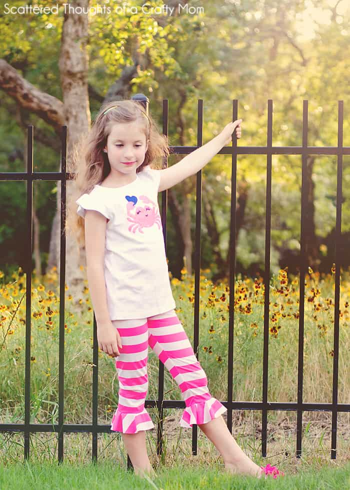 free girls legging pattern