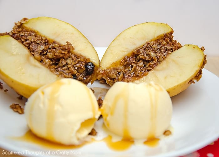 Kids in the Kitchen:  Baked Apples