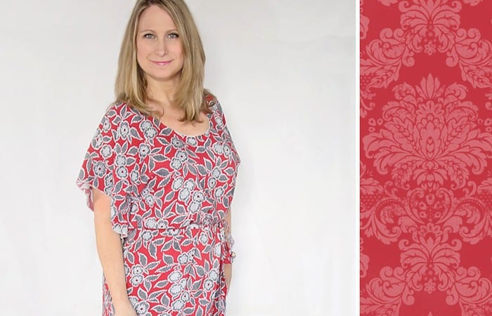 Lesley Flutter Top Pattern (50% of this week!) and Giveaway