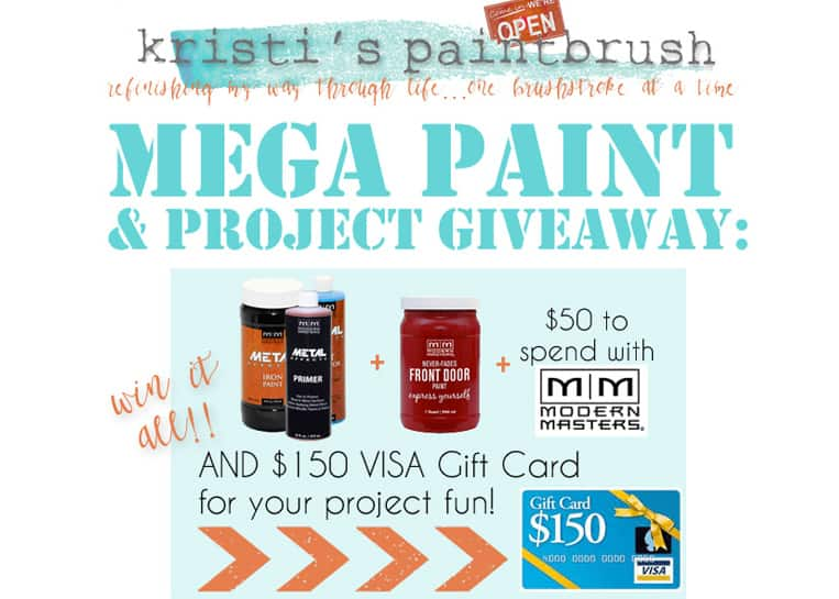Mega Paint and Project Giveaway