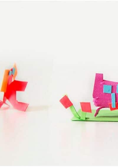 Boredom Busters:  Simple Paper Craft Ideas for Kids