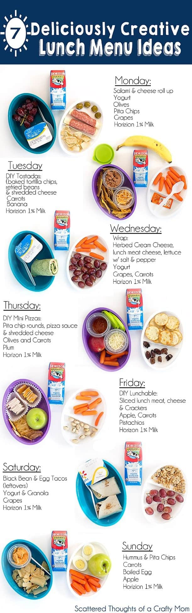 7+ Deliciously Creative Lunch Ideas Kids will love!