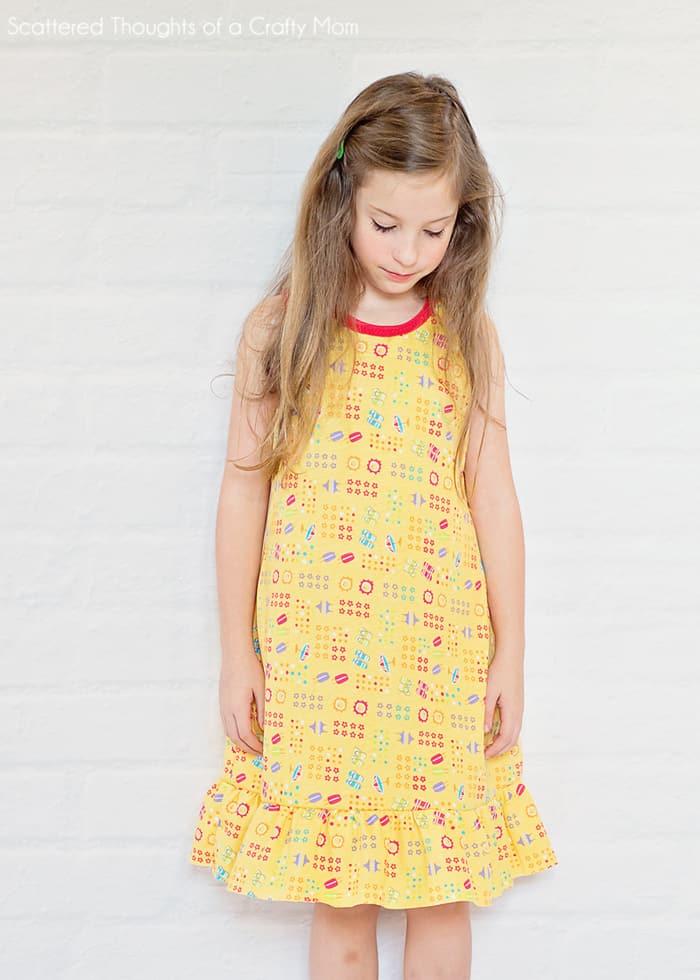 summer nightgown pattern