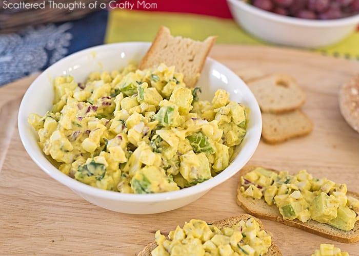 Curry Egg Salad Recipe