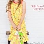 Knit Night Gown Tutorial (Pattern Hack)