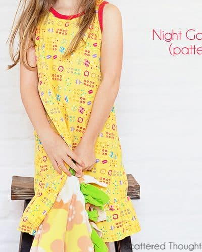 Knit Night Gown Tutorial (Pattern Hack)