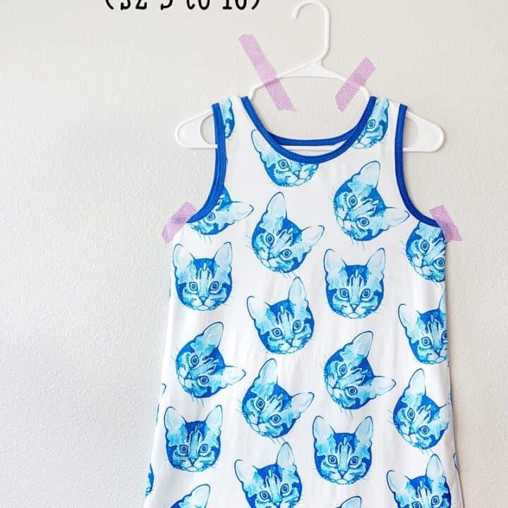 Free girls nightgown pattern