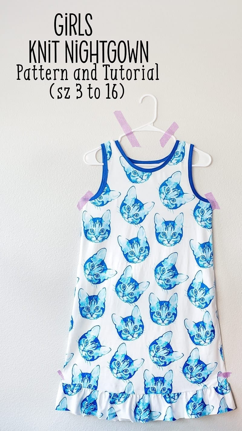 Free girls nightgown pattern
