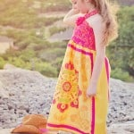 Summer Rose Sundress Pattern for girls (free pattern sz 2 to 10)