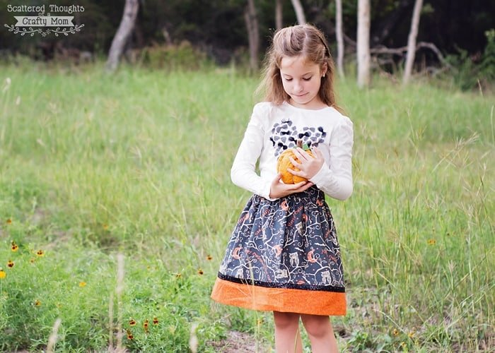 sew a skirt for halloween