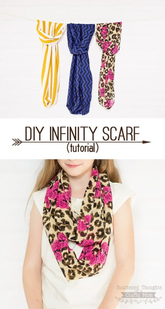 easy infinity scarves tutorial scattered thoughts of a