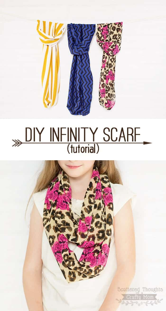 How to Make an Infinity Scarf (easy tutorial)