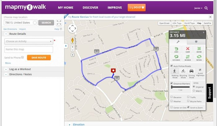 Simple Tips To Restart Your Workout Routine Scattered Thoughts Of - Map my walk online
